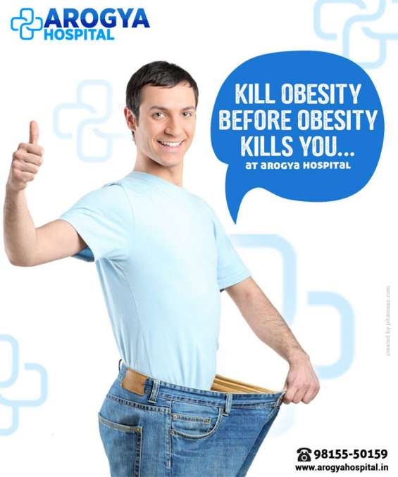 Fat free health with obesity treatment at arogya hospital