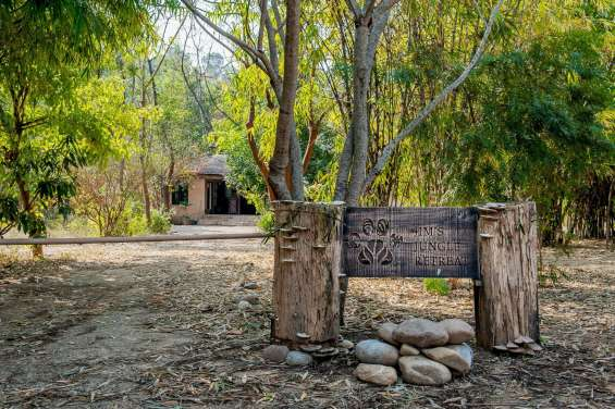 Entrance of jim's jungle retreat