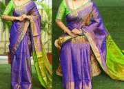 Uppada Designer Tissue Silk Saree for Rs.2999 online on Trendy Handlooms