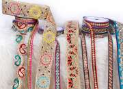 Embroidered Laces Manufacturers and International Traders in India | Modi Mills