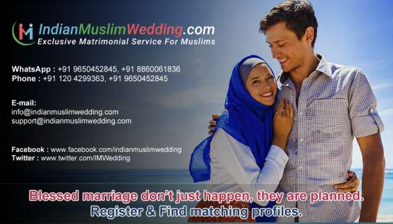 Perfect muslim brides and grooms for marriage