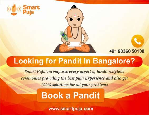 Book a north indian pandit in bangalore