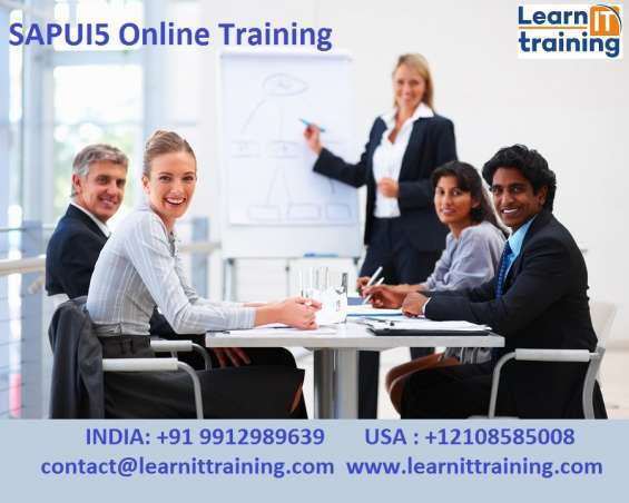 Sapui5 online training by experts | sapui5 live training