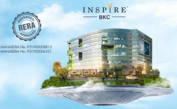 Upcoming commercial complex in bkc by adani realty - inspire bkc
