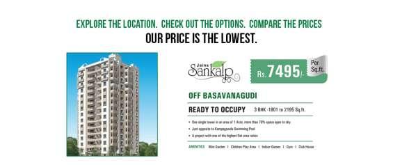 2 bhk flats for sale in basavanagudi bangalore