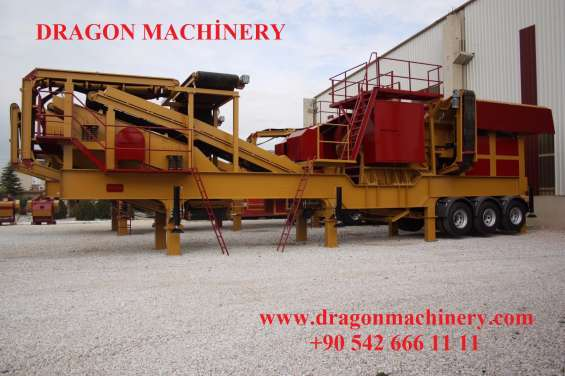 Primary crushing and screening plant,dragon 11000