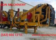 Mobile Secondary Crushing And Screening Plant Dragon 5000