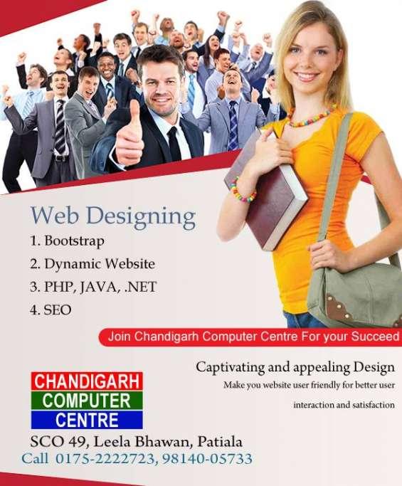 Web designing training in patiala.