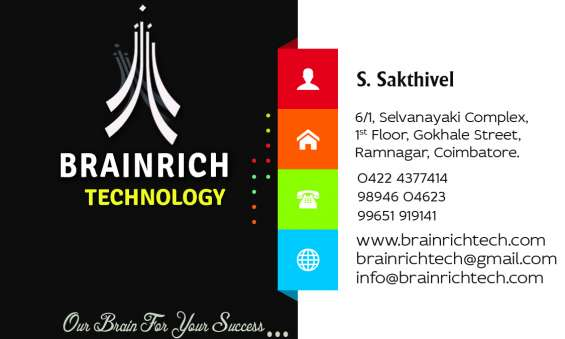 B.e/m.e final year student project center in coimbatore @ brainrich technology