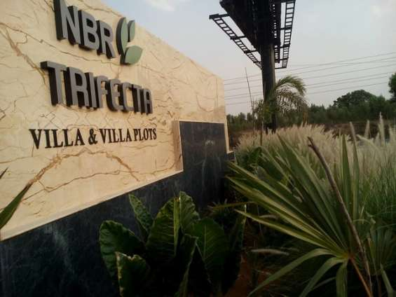 Villa plots near sarjapur bagalur road