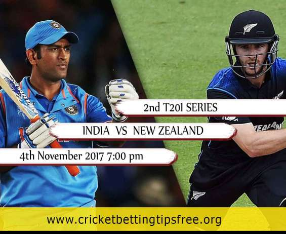 Best cricket betting tips for ind vs nz 2nd t20i