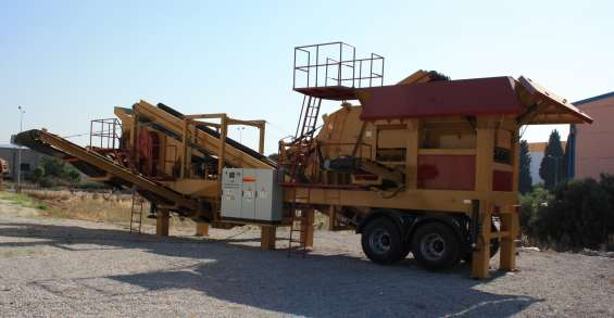 New generation mobile crushing and screening plant