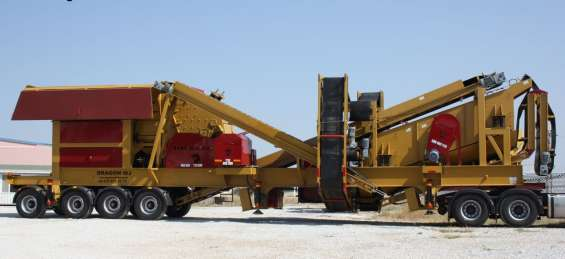 New generation mobile crushing and screening plant closed circuit type