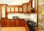 Fully furnished one bhk serviced villa at vyttila…