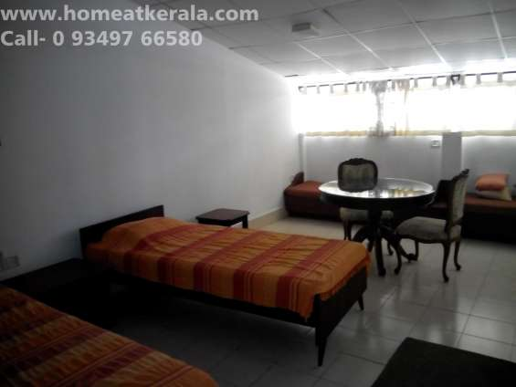 Two bhk serviced apartment for rent at dlf kakkanad for short term rental.