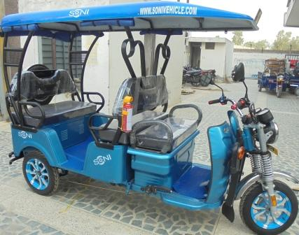 Auto electrical rickshaw