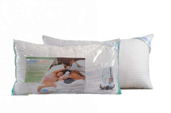Buy ball hollow fibre pillows online at discounted offer upto 50% from homescapesindia