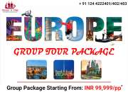 Europe Group Tour Package
