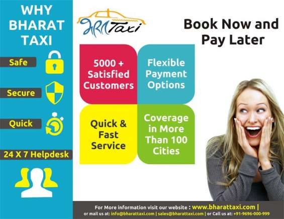 Taxi services in lucknow- bharat taxi