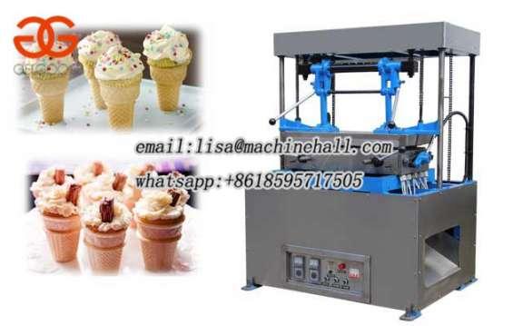 Commercial ice cream cone machine