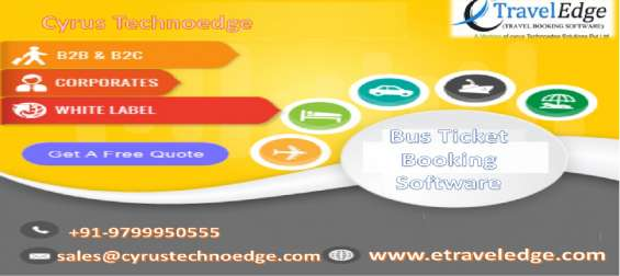 Custom bus booking software and ticketing software system
