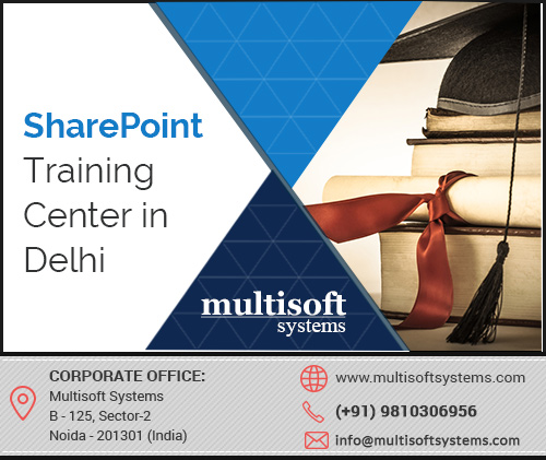 Sharepoint training center in delhi