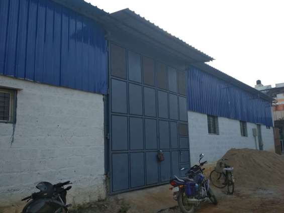 4600 sq. ft warehouse / godown for rent in horamavu