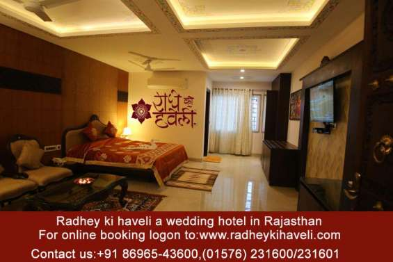 Live a royal heritage culture with radhey ki haveli