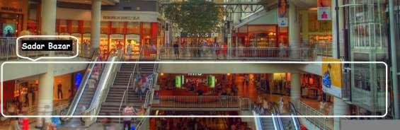 Gaur sadar bazar outstanding place for shopping, book retail space | 9268789000