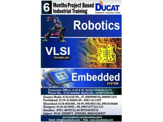 Embedded system training center in ghaziabad