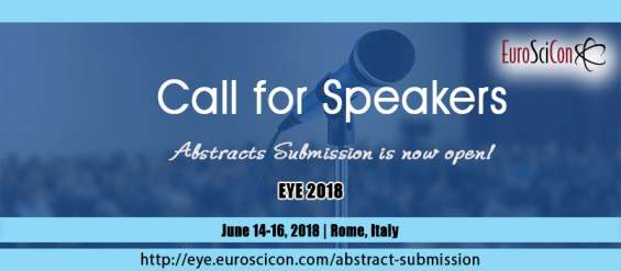 3rd edition of international conference on eye and vision
