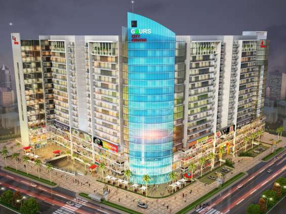 Call us for superb retail shops/space in gaur city center | 9268-789-000