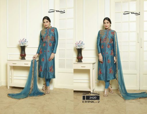 Ethnic vol 2 suits by your choice