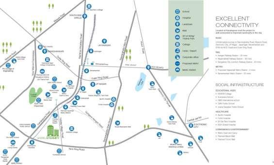 Godrej eternity location map