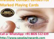 Invisible Contact Lenses for Marked Playing Cards - 8826512639