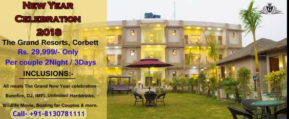Now best resorts in corbett for new year celebration