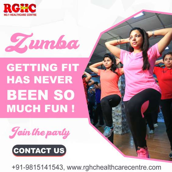 Zumba classes in tagore nagar
