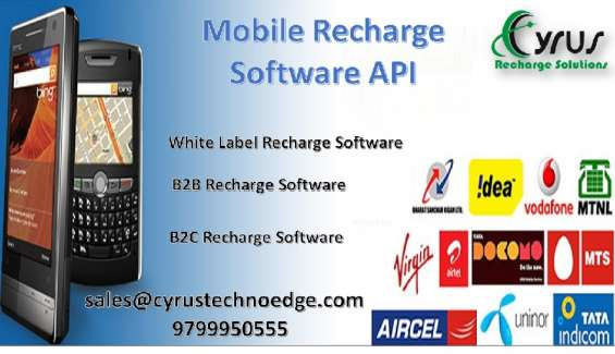 Committed mobile recharge software api for your business growth