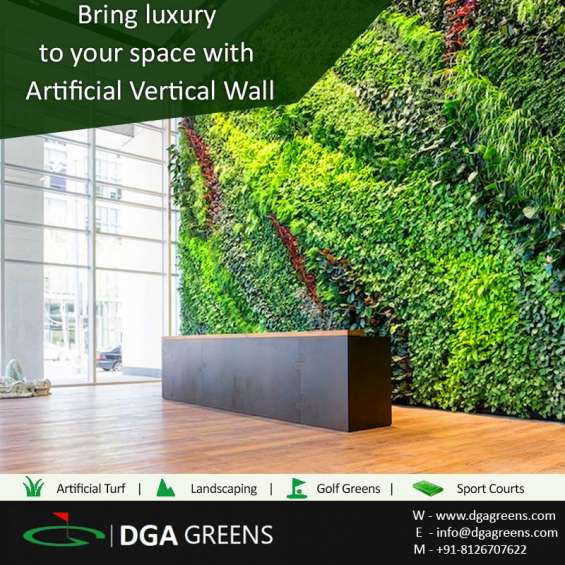 If you have any unsightly wall, using vertical wall artificial turf is the perfect way of enhancing it.