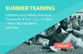 Project based summer training in noida,summer-training-in-noida