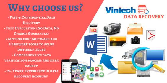 Vintech is the professional data recovery services provider in hyderabad (ashok nagar)