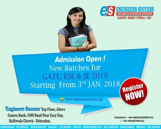 Gate coaching in dehradun engineers success