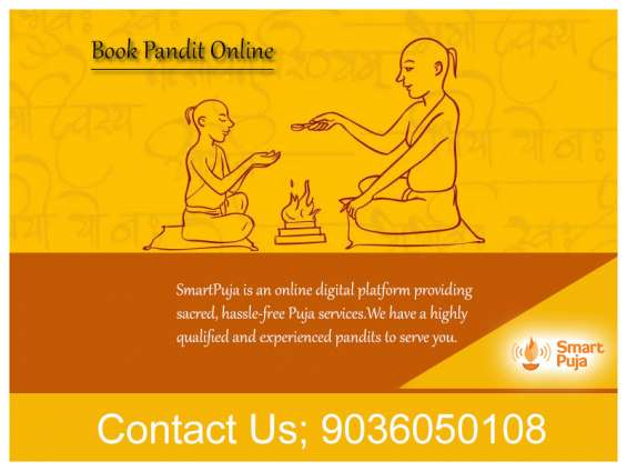 Pandit for puja in bangalore - smartpuja