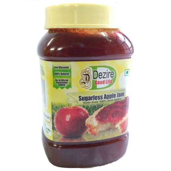 Sugar free apple jam