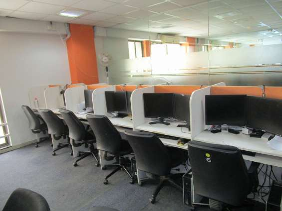 Office on rent # furnished 10 work station # at satellite # ahmedabad #