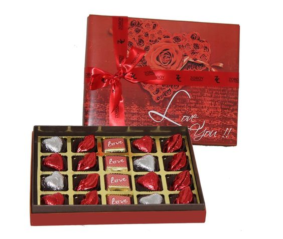 Buy valentine's day chocolate gift for girlfriend