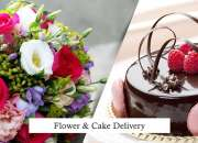 Great Offer Cakes and Flowers for February 14 Valentine Day