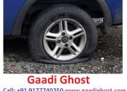 Gaadighosr offering bike, car puncture repair services at home in hyderabad.