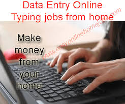 Home based online jobs