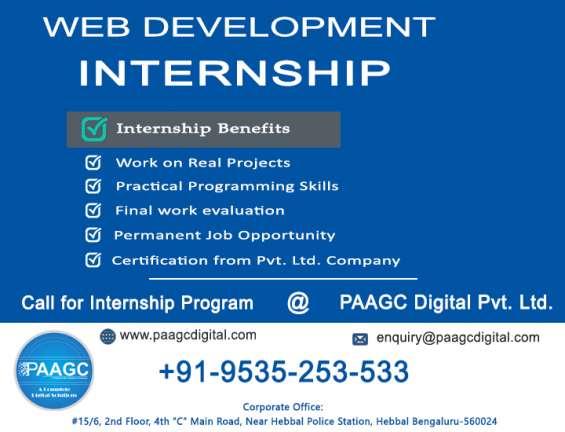Internship web developer